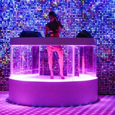 Events & Staging - So You Think You Can Dance Afterparty - DJ Booth and Decorative Wall | Unit 11