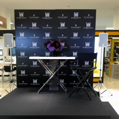 Events & Staging - Hudson's Bay, Illamasqua - Step & Repeat Wall | Unit 11