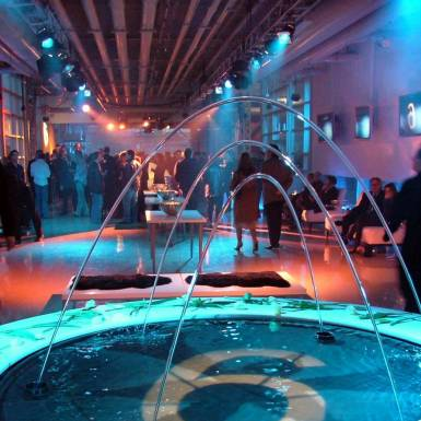 Events & Staging - BMW 6 Series Event, Custom Branded Fountain And Event Staging | Unit 11